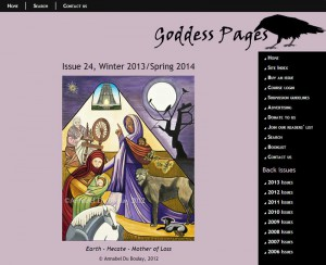 Goddess Pages