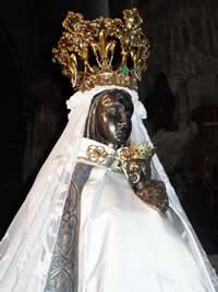 Black Madonna at Walcourt
